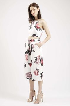 **Floral Crop Top and Culottes By Cameo - Topshop love it!