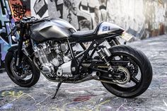 The Brute - Jamie's Yamaha XJR1300 ~ Return of the Cafe Racers