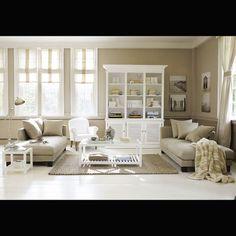 Tavolino da salotto bianco in legno L 40 cm