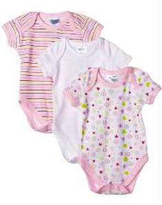 Spasilk Bodysuits 3 Pack $19.95.. at www.babybellandco.com
