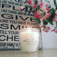 Handmade Scented Candles by Kya Theia Collections