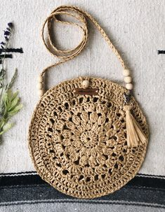 Best 12 Boho Crochet Bags – how to make your own OOAK bag – MotherBunch Crochet – SkillOfKingShell Rattan Bag from March Crochet Bag Pattern Ideas - Page 42 of Do not throw old jeans 🙂Crochet Lacey Charma Neck Warmer - Lidia Crochet Tricot, Crochet Tote, Crochet Handbags, Crochet Purses, Knit Crochet, Crochet Shoulder Bags, Macrame Bag, Macrame Mirror, Macrame Curtain