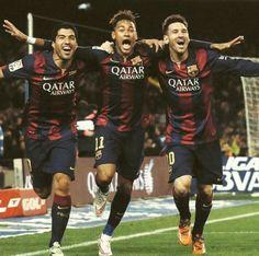 MSN FC Barcelona Messi - Suarez -  Neymar