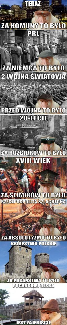 Jak ja z tego kisnę za każdym razem. Text Memes, Dankest Memes, Funny Photos, Funny Images, Laugh Or Die, Polish Memes, Funny Mems, History Memes, Reaction Pictures