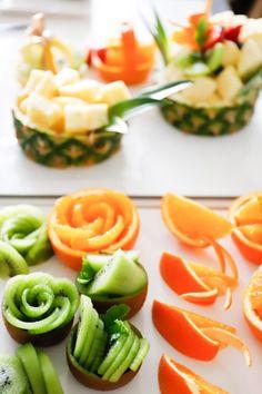 Funky Fruit, Fruit Art, Henna Patterns, Cantaloupe, Cake Decorating, Cooking, Food, Meal, Kochen