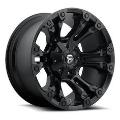Fuel Offroad Wheels D560 20x9 Vapor 6x1356x5.5 BD5.75 20 106.4 Matte Black