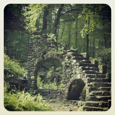Madame Sherri Castle Ruins - in New Hampshire!
