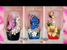 Colorful Nail Art, Beautiful Nail Art, Beauty Nails, Pedicure, Nail Art Designs, Lily, Perfume, Claire, Chic Nails