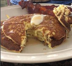 """So for a while now there's been variations on the same keto pancake recipe floating around on the internet. I think the first place I saw some version of the """"cream cheese and egg"""" pancake was on Melissa Sevigny's lovely recipe blog,I Breathe I'm Hungry. And there's a reason the recipe has so many fans: …"""