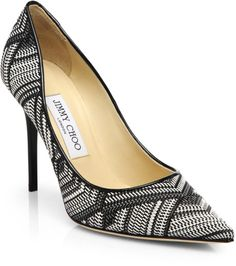 Love this: Amber Woven Leather Pumps @Lyst I´m head over heels in love <3