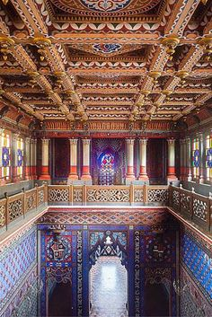 Built in the 17th century and located in the Tuscan hills, the Sammezzano…