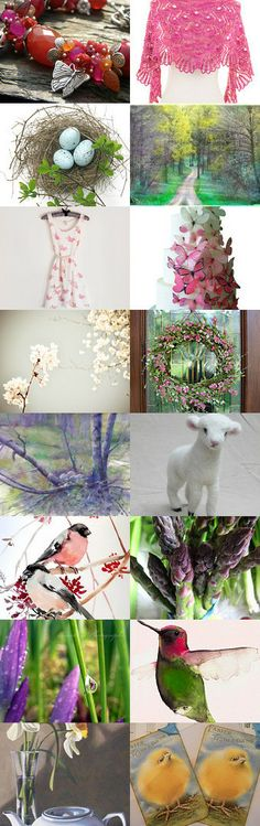 A Promise of Spring by Pat Sylvester on Etsy--Pinned with TreasuryPin.com