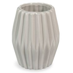 SCANDI ceramic vase, grey
