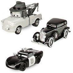"Disney Pixar ""Cars 2"" Exclusive 1:43 Toon Mater / Martin Private Eye Die Cast - 3 Cars (Disneystore exclusive) - Véhicule Miniature - Voiture de Disney, http://www.amazon.fr/dp/B007MRPKSG/ref=cm_sw_r_pi_dp_nFQpsb105Y5X5"