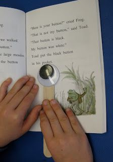Go Crazy with Googly Eyes This is such a cute idea to help the kids that are not really into reading want to read!