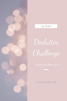 The next challenge starts on May. 30 Days packed with decluttering, organising and sorting. Click through to join Working Mums, Daily Challenges, Mummy Bloggers, Anxiety Help, Motivational Words, Busy Life, 30 Day Challenge, Im Trying, Organising