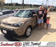 Congratulations to Shannan Wilcox on your #Kia #Soul purchase from Ivan  Navarrete at Southwest Kia Mesquite! #NewCar