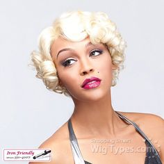 It's A Lace Front Wig - Synthetic Iron Friendly Lace Front Wig - Simply Lace Doris (futura) [8530]