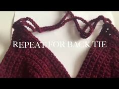 How to Crochet a Crop Top - YouTube