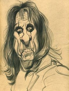 Alice Cooper by Zack Wallenfang