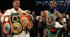 The Anthony Joshua vs. Deontay Wilder undiputed heavyweight title fight will not happen in Joshua will fight Alexander Povetkin in September Anthony Joshua Vs, Bronze Bomber, Deontay Wilder, Boxing News, Shit Happens