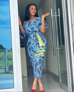 15 times Serwaa Amihere Served us hot in Ankara. - 15 times Serwaa Amihere Served us hot in Ankara. – BeeInspired Source by cdiarrah - African Fashion Ankara, Latest African Fashion Dresses, African Print Fashion, Fashion Prints, African Style, Fashion Styles, African Beauty, Women's Fashion, Ankara Dress Styles