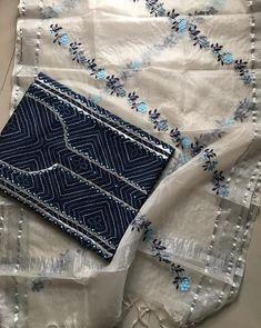 Embroidery On Kurtis, Kurti Embroidery Design, Embroidery Dress, Saree Dress, Crochet Bikini, Fashion Looks, Womens Fashion, Dresses, Style