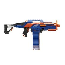 Nerf N-Strike Elite Rapidstrike (Colors may vary) Stay mobile with this streamlined, lightweight Rapidstrike blaster! The Nerf N-Strike Elite Nerf Mod, Toys R Us, Toys For Boys, Kids Toys, Megalodon, Pistola Nerf, Pokemon, 10 Year Old Boy, Station Wagon