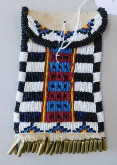 Lot: Beaded Strike-A-Lite Bag, Lot Number: 0149, Starting Bid: $10, Auctioneer: Helm Auction, Auction: Helm's Tribal & Native American Summer Spree, Date: September 9th, 2017 PDT