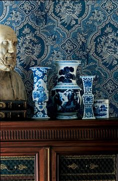 Chinoiserie Chic: Sunday Inspiration - Blue & White
