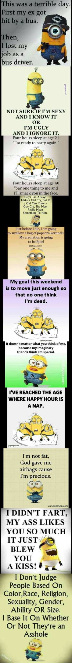 Top 11 Funny Minion quotes