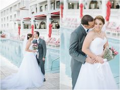 Caryn & Cliff's Marine themed wedding at The Oyster Box Hotel in Durban Protea Bouquet, Couple Shoot, Oysters, One Shoulder Wedding Dress, Weddings, Couples, Wedding Dresses, Creative, Photography