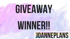 Giveaway Winner of 10 in One scented Pen and Bolero Products from 4/26 D...