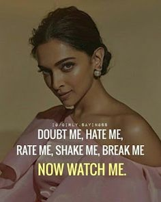 Get motivated – bestlooks Positive Attitude Quotes, Attitude Quotes For Girls, Good Thoughts Quotes, Quotes About Attitude, Tough Girl Quotes, Jealousy Quotes, Quotes Girls, Status Quotes, Classy Quotes