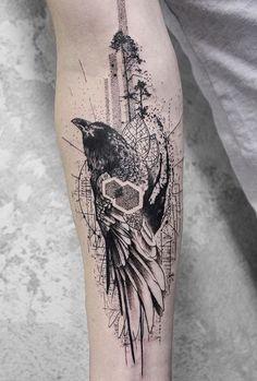 Koit tattoo Raven