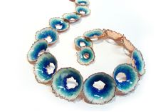 Barnacles by Cheryl Eve Acosta (enamel necklace)