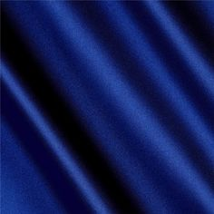 Silky Satin Charmeuse Solid Royal from @fabricdotcom  This very lightweight and ultra soft charmeuse satin has a beautiful hand and drape. It is appropriate for blouses, dresses and skirts - especially on the bias. It is also perfect for flirty lingerie.