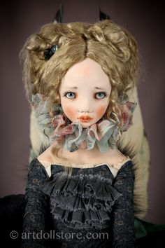 Moth - my absolute most favorite!!!  I fell in love with it...  Artist doll by Alisa Filippova