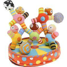 Kushies Kushies Zolo Toy Acrobats at Barneys.com