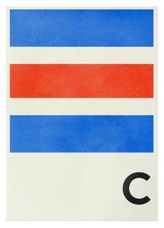 Navy Signal Prints