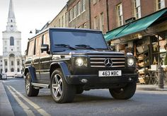 2013 Mercedes G65 AMG 612 hp V-12 The fastest heavy duty refrigerator you can buy.