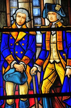 Mount Vernon - George Washington Stained Glass