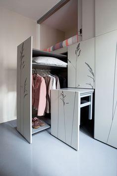 Compact Apartment In Paris by Kitoko Studio 14