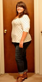 """71lbs down, and from a size 26/28 down to a 14/16 on top, and 18 on bottom.  Boom.  Only 19 pounds away from my """"lose 30 more by the time I turn 30"""" goal, which will put me at 90 pounds lost by December 19th!"""