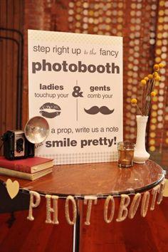 @Jodi Wissing Wissing Walden  Photobooth Sign