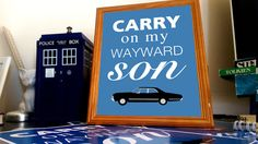 Supernatural  Dean Winchester  Carry On My Wayward by OutlineArt