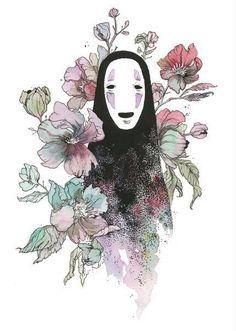 23 Ghibli inspired fan art that will lift your spirits - # fan art . - 23 Ghibli inspired fan art that will lift your spirits – - Art Studio Ghibli, Studio Ghibli Tattoo, Studio Ghibli Quotes, Anime Kunst, Anime Art, Manga Anime, Chihiro Y Haku, Illustrator, Spirited Art