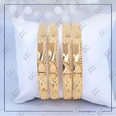 Gold Bangles Design, Gold Jewelry, Jewellery, Jewelry Stores, Jewels, Cnc, Bracelets, Handmade, Jewelry Photography