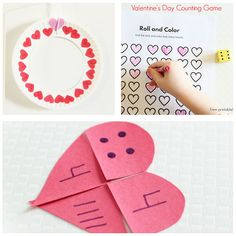 Hands-on Valentine's Day lesson plans.