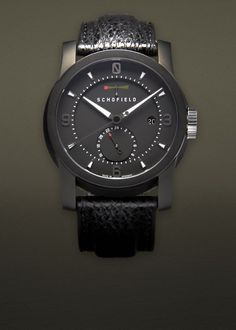 Schofield Signalman watch - Simplicity and modern at the same time.